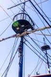 Πειρατές Ahoy θάλασσας Στοκ Εικόνα