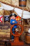 Πειρατής αγοριών Στοκ φωτογραφίες με δικαίωμα ελεύθερης χρήσης