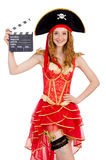 Πειρατής γυναικών Στοκ φωτογραφίες με δικαίωμα ελεύθερης χρήσης