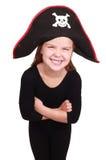 πειρατής κοριτσιών Στοκ φωτογραφίες με δικαίωμα ελεύθερης χρήσης