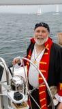 πειρατής κυβερνήτη Στοκ φωτογραφίες με δικαίωμα ελεύθερης χρήσης