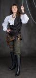 πειρατής μετάλλων κοριτ&sigm Στοκ εικόνα με δικαίωμα ελεύθερης χρήσης