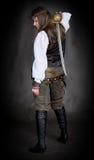 πειρατής μπαλωμάτων κοριτ Στοκ φωτογραφία με δικαίωμα ελεύθερης χρήσης