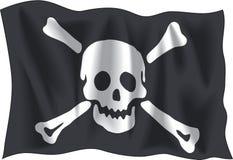 πειρατής σημαιών Στοκ εικόνες με δικαίωμα ελεύθερης χρήσης
