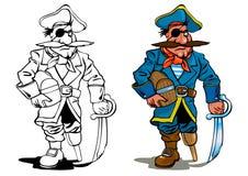 πειρατής Στοκ εικόνες με δικαίωμα ελεύθερης χρήσης