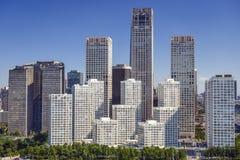 Πεκίνο, Κίνα CBD Στοκ φωτογραφία με δικαίωμα ελεύθερης χρήσης
