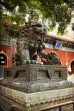 Πεκίνο, ναός λάμα στοκ φωτογραφίες