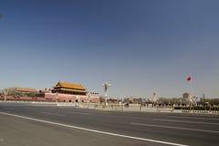 Πεκίνο Tiananmen Στοκ εικόνα με δικαίωμα ελεύθερης χρήσης