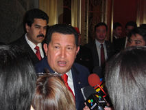 Hugo Chavez στοκ εικόνα