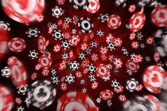 πελεκά το πετώντας πόκερ Στοκ φωτογραφία με δικαίωμα ελεύθερης χρήσης