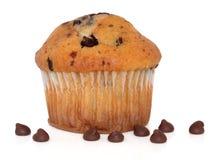 πελεκήστε muffin σοκολάτας Στοκ εικόνες με δικαίωμα ελεύθερης χρήσης