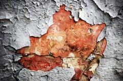 πελεκημένος τοίχος χρωμά& στοκ εικόνες