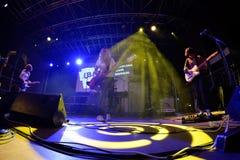 Πενθήστε τη ζώνη στη συναυλία στο φεστιβάλ BAM στοκ εικόνα
