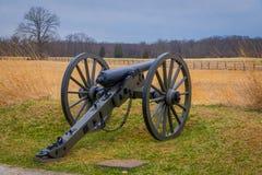 Πενσυλβανία, ΗΠΑ, 18 ΑΠΡΙΛΊΟΥ, 2018: Άποψη Napoleon, πυροβόλο 12 λιβρών, που βρίσκεται σε ένα πάρκο νεκροταφείων σε Gettysburg εθ Στοκ εικόνα με δικαίωμα ελεύθερης χρήσης