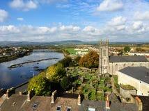 Πεντάστιχο Ιρλανδία του Castle του John βασιλιάδων στοκ εικόνες