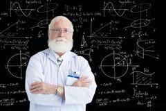 πεπειραμένος επιστήμονα&si Στοκ εικόνες με δικαίωμα ελεύθερης χρήσης