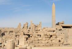Περίβολος του amun-Πε στην Αίγυπτο Στοκ εικόνες με δικαίωμα ελεύθερης χρήσης