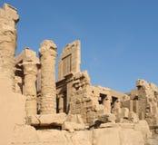 Περίβολος του amun-Πε στην Αίγυπτο Στοκ Εικόνες