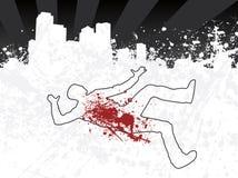 περίγραμμα πόλεων κιμωλία&s ελεύθερη απεικόνιση δικαιώματος
