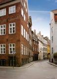 περίεργη οδός της Κοπεγχάγης στοκ εικόνες με δικαίωμα ελεύθερης χρήσης