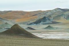 Περίεργοι πυραμιδικοί σχηματισμοί στο πέρασμα Sico Στοκ φωτογραφία με δικαίωμα ελεύθερης χρήσης
