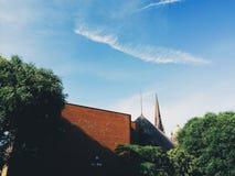Περίεργος ορίζοντας πόλεων Στοκ Εικόνες
