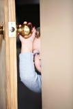 περίεργο κατσίκι Στοκ εικόνες με δικαίωμα ελεύθερης χρήσης