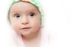 Περίεργο μωρό Στοκ Φωτογραφία