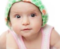 Περίεργο μωρό Στοκ Εικόνες