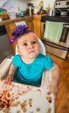 Περίεργο να φανεί μωρό Στοκ εικόνες με δικαίωμα ελεύθερης χρήσης