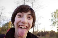 περίεργο πρόσωπο Στοκ φωτογραφία με δικαίωμα ελεύθερης χρήσης