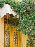 Περίκομψες μπροστινές πόρτες στο σπίτι Στοκ εικόνες με δικαίωμα ελεύθερης χρήσης