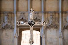 Περίκομψος θρησκευτικός σταυρός στοκ φωτογραφία