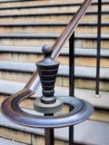 Περίκομψος ορείχαλκος Bannister Στοκ Εικόνες
