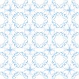 Περίκομψο μπλε άνευ ραφής γεωμετρικό ντεκόρ σχεδίων για την ταπετσαρία Ε Στοκ εικόνες με δικαίωμα ελεύθερης χρήσης