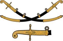 Περίκομψο saber καμπυλών Στοκ Εικόνα