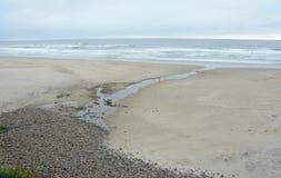 Περίληψη παραλιών Arcadia - ακτή του Όρεγκον στοκ φωτογραφίες