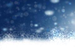 Περίληψη που θολώνεται εορταστική χειμερινά Χριστούγεννα ή πλάτη καλής χρονιάς ελεύθερη απεικόνιση δικαιώματος