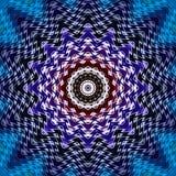 Περίληψη σύστασης κεραμιδιών σχεδίων γεωμετρική τυπωμένη ύλη απεικόνισης απεικόνιση αποθεμάτων