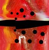 Περίληψη τέχνη ζωγραφική γραφικός αφαίρεση εικόνα Στοκ εικόνα με δικαίωμα ελεύθερης χρήσης