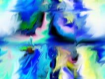 Περίληψη τέχνη ζωγραφική γραφικός αφαίρεση εικόνα Στοκ φωτογραφίες με δικαίωμα ελεύθερης χρήσης