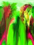 Περίληψη τέχνη ζωγραφική γραφικός αφαίρεση εικόνα Στοκ φωτογραφία με δικαίωμα ελεύθερης χρήσης