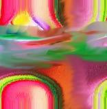 Περίληψη τέχνη ζωγραφική γραφικός αφαίρεση εικόνα Στοκ Εικόνες