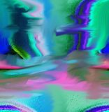 Περίληψη τέχνη ζωγραφική γραφικός αφαίρεση εικόνα Στοκ εικόνες με δικαίωμα ελεύθερης χρήσης
