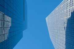 Περίληψη του Μανχάταν skyscrapes Στοκ Φωτογραφίες