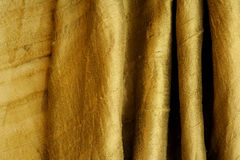περίληψη ως χρυσό πράσινο μετάξι ανασκόπησης Στοκ φωτογραφία με δικαίωμα ελεύθερης χρήσης