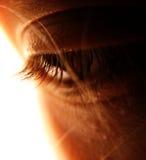 περίληψη eyelashes Στοκ Εικόνες