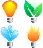 περίληψη lightbulb Στοκ Εικόνες