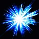 περίληψη starburst Στοκ Εικόνες