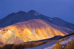 περίοδος βουνών ηλιόλο&upsil στοκ φωτογραφίες